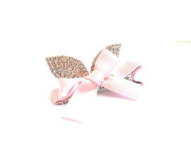 Haarspeldje Bunny Bow Light Pink
