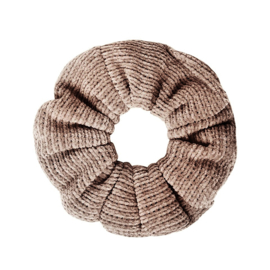 Scrunchie Knitted | Taupe