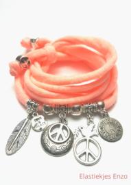Neon Light Coral| Love & Peace