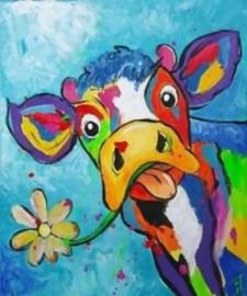 Diamond Painting set | Cow