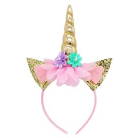Haarband Unicorn Gold Sparkle