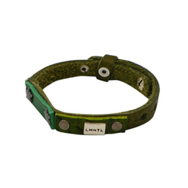 LMNTL |  Armband Small Star Studs | Green