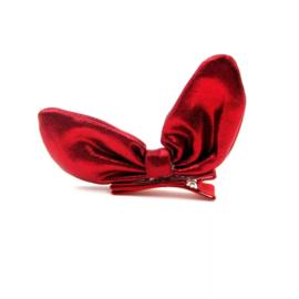 Haarclip Bunny Red