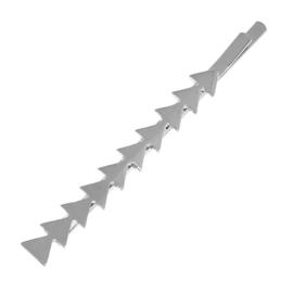 Schuifspeldje Triangle Zilver