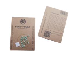 Braid Pearls| Mint