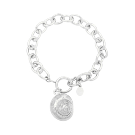 Armband Shell | Zilver