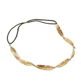 Haarband  BoHo | Feather Gold