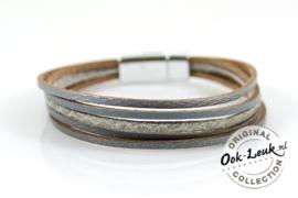 Magneetarmband Grey