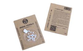 Braid Pearls| White