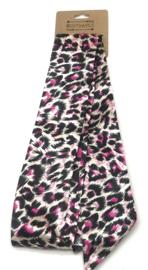Haar sjaaltje Leopard Pink