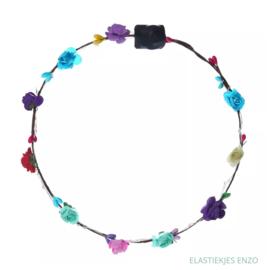 LED Haarband 'Flowers' | Multi
