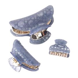 Haarklem Sparkle Blue  Set