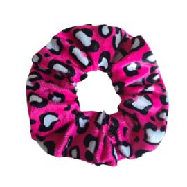 KidZ Scrunchie Wild Life   Bright Pink