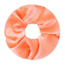 Scrunchie Sweet Velvet | Coral Pink