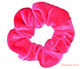 Velvet Scrunchie HOT Pink