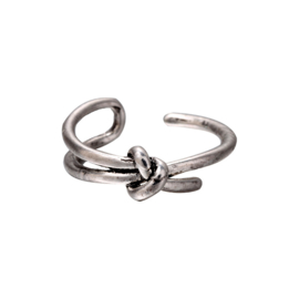 Ring Zilver Knot