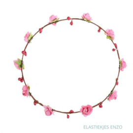 LED Haarband 'Flowers' | Pink