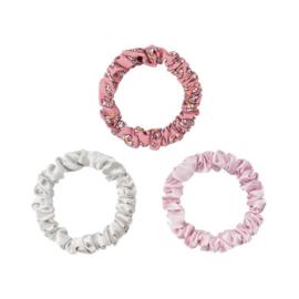 Scrunchie Pastel Flowers | Pink