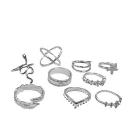 Ring Set | Autumn Zilver