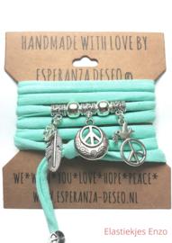 Dark Mint  Love & Peace