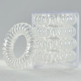 Telefoonsnoer elastiek Clear (XS)