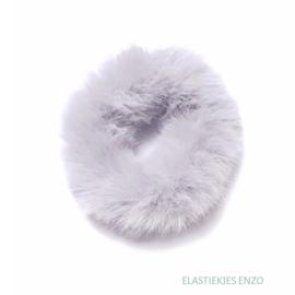 Fluffy Scrunchie | Grey