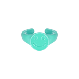 Candy Ring Smiley| Turquiose