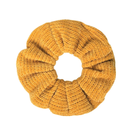 Scrunchie Knitted | Yellow