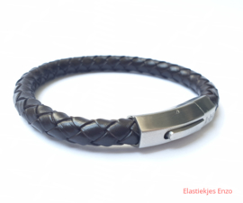 I*H Leather Bracelet Milan | Dark Brown