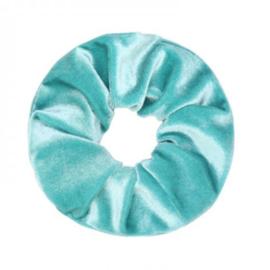 Velvet Scrunchie Turquiose