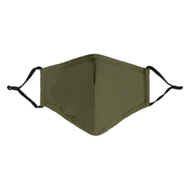 Mondkapje Army Green