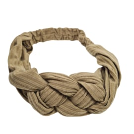 Haarband Braided | Khaki