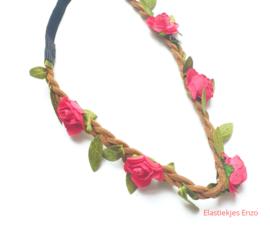 Haarband Flowers| Rood