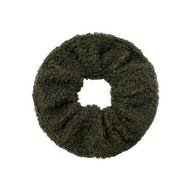 Scrunchie Soft Teddy | Green