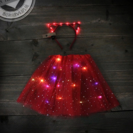 LED TuTu SET| Red Cat