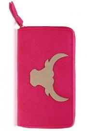Wallet Buffalo Fuchsia/ zand