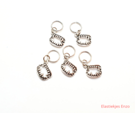 Hair Ring Vampier Zilver