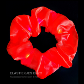 Led Scrunchie | Flaming Red
