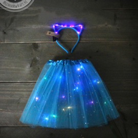 LED TuTu SET| Blue Cat