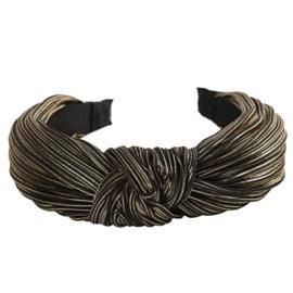 Haarband geknoopt Shine | Gold