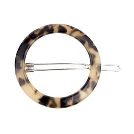 Haarspeld Cirkel Leopard