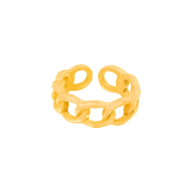 Candy Ring Schakel| Yellow