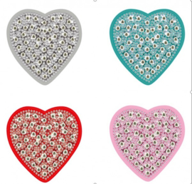 Diamond Painting Sleutelhanger Set| Hearts