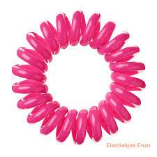 Telefoonsnoer elastiek Pink (XS)