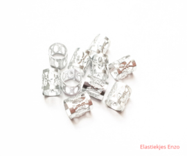 Haar Bedels zilver (S) | 10 stuks