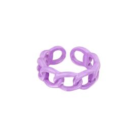 Candy Ring Schakel| Lila