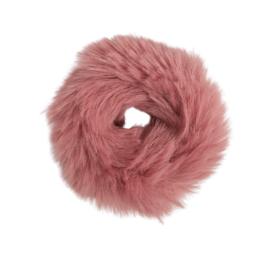 Fluffy Scrunchie | Oud Roze