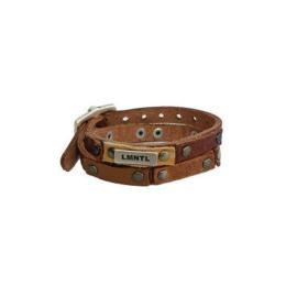 LMNTL |  Armband Wrap Studs | Cognac