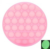 PoP It Glow in the Dark | Rond  Pink