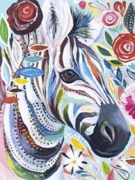 Schilderen op nummer| Zebra